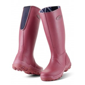Grubs Rainline Wellies Rosewood