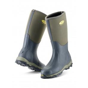 Grubs Snowline 8.5 Wellington Boots Moss Green