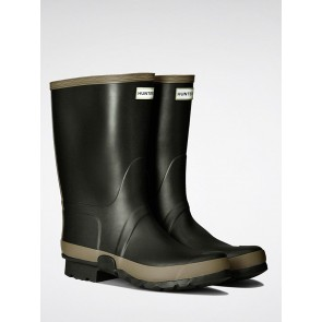 Hunter Gardener Boot Dark Olive/Clay