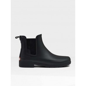 Hunter Original Refined Chelsea Boots Black