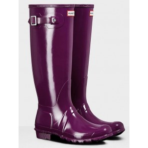 Hunter Women's Original Tall Gloss Violet