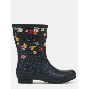 Joules Molly Welly Navy Blossom