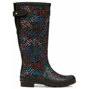 Joules Welly Black Speckle