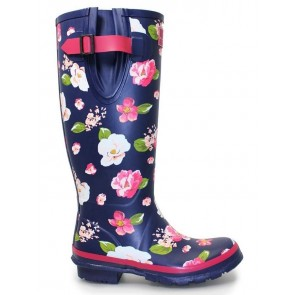 Lunar Garden Floral Welly