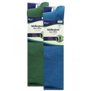 Men's Twin Pack Welly Socks