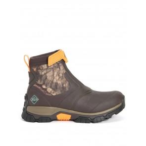 Muck Boots Men's Apex Mid Zip Brown Camo