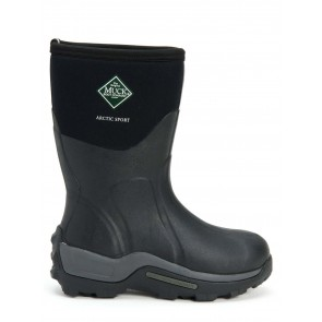 Muck Boots Men's Arctic Sport Short Black