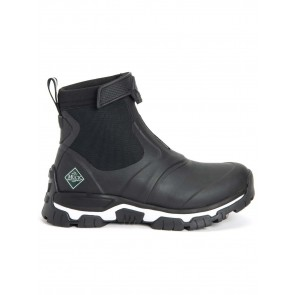 Muck Boots Women's Apex Mid Zip Black
