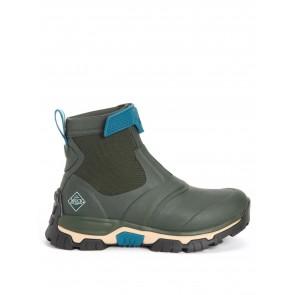 Muck Boots Women's Apex Mid Zip Moss