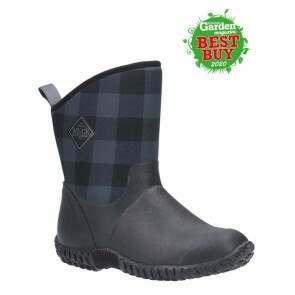 Muck Boots Women's Muckster II Mid Black/Grey Plaid