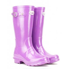 Rockfish Kids Mini Me Wellington Gloss Violet