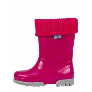 Term Childrens Rolltop Welly Pink