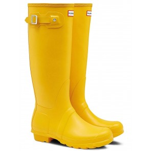 Hunter Women's Original Tall Yellow