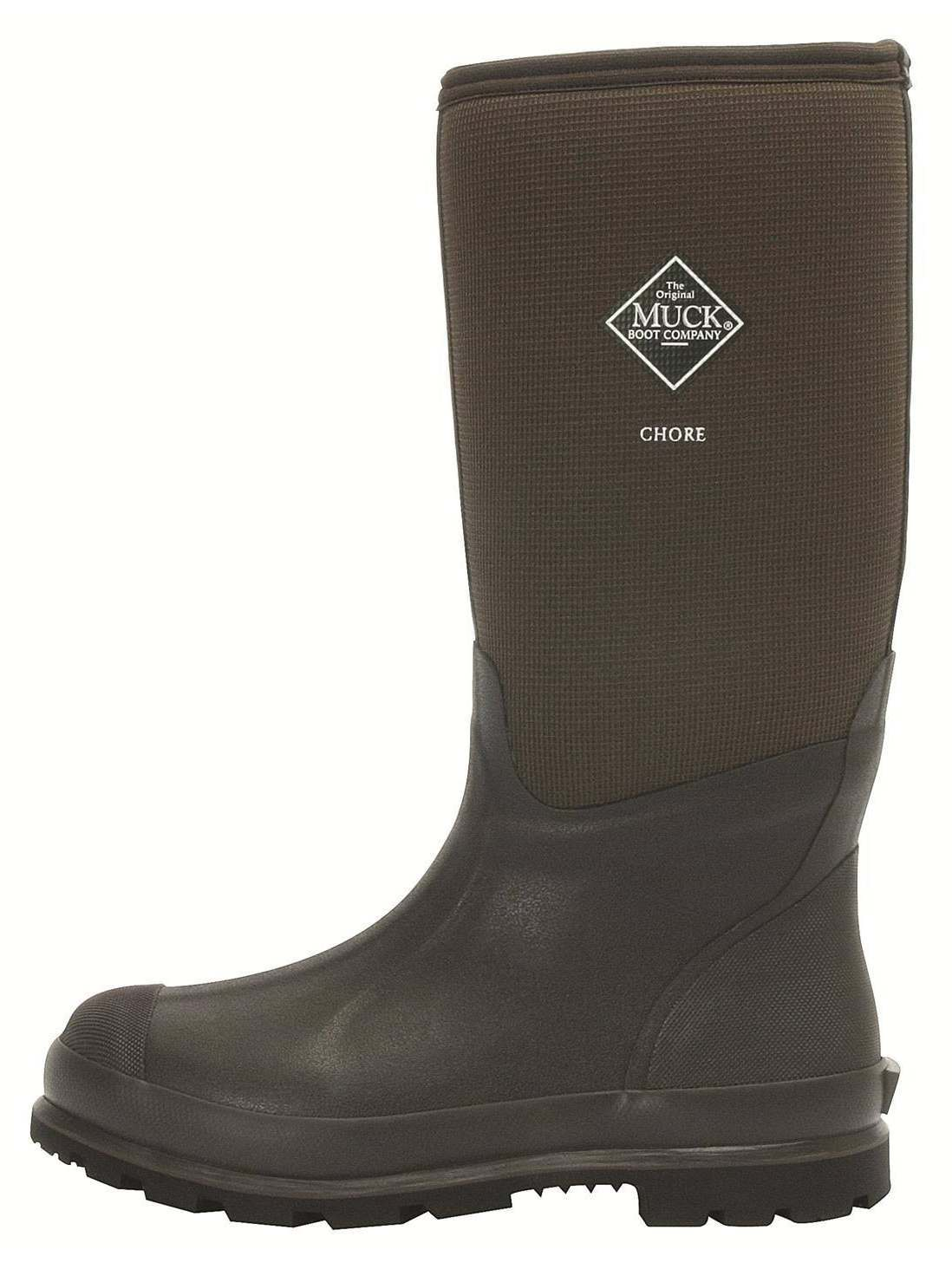 Simple Details About Muck Boot Co Mens 9 Womens 10 Chore Cool Mid CMCT900 12