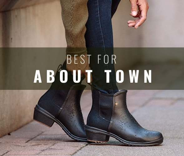 Best Wellies for the commute and about town