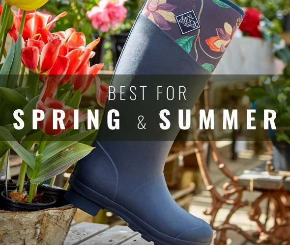Best Wellies for Spring and Summer