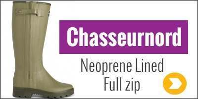 Le Chameau Chasseurnord Neoprene wellies