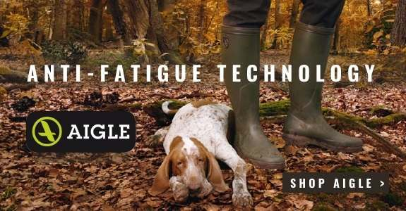 Aigle wellies - with anti-fatigue technology