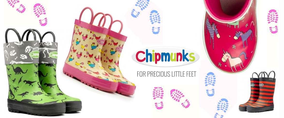 Chipmunks Kids Wellies