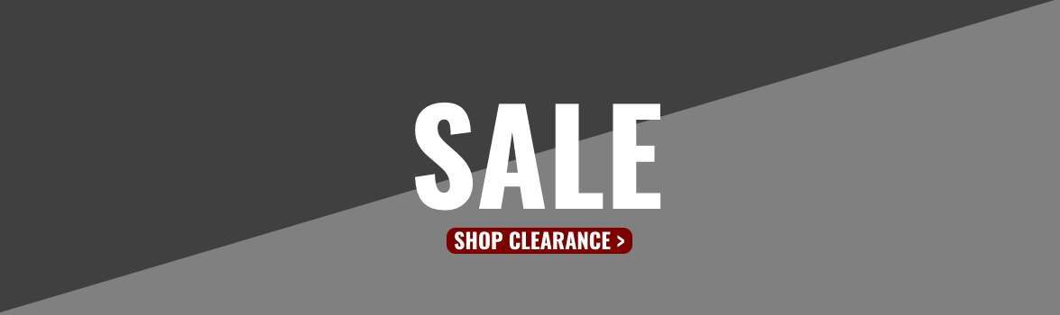 Clearance sale now on