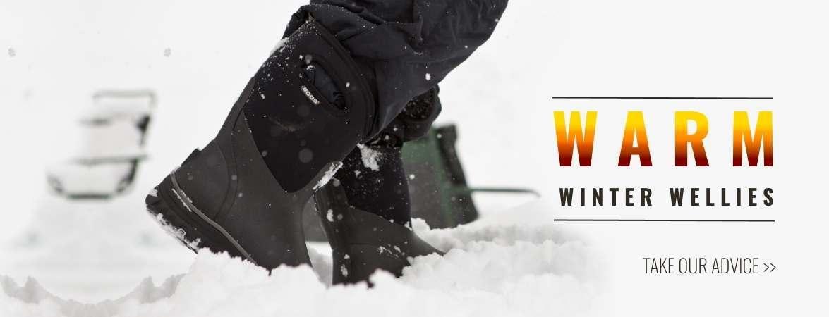 Warm Winter Wellies