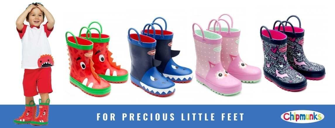 Chipmunks children's wellies - for precious little feet