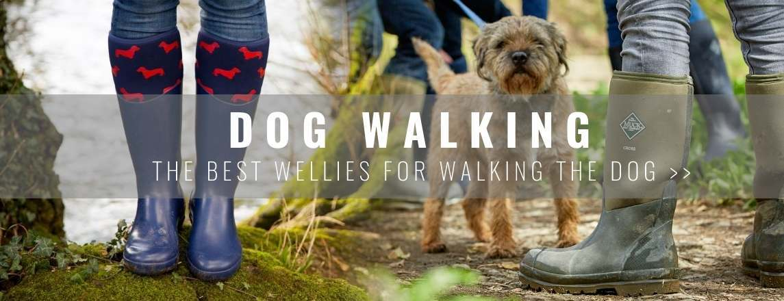 The best wellies for walking the dog