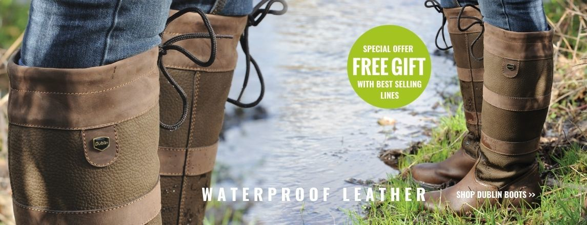 Free gift with Dublin River boots