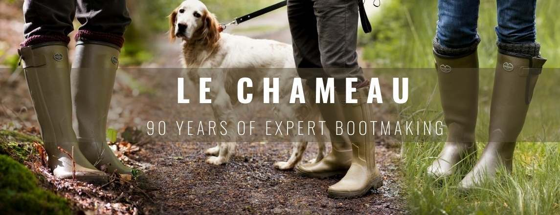 Le Chameau wellies and fieldboots