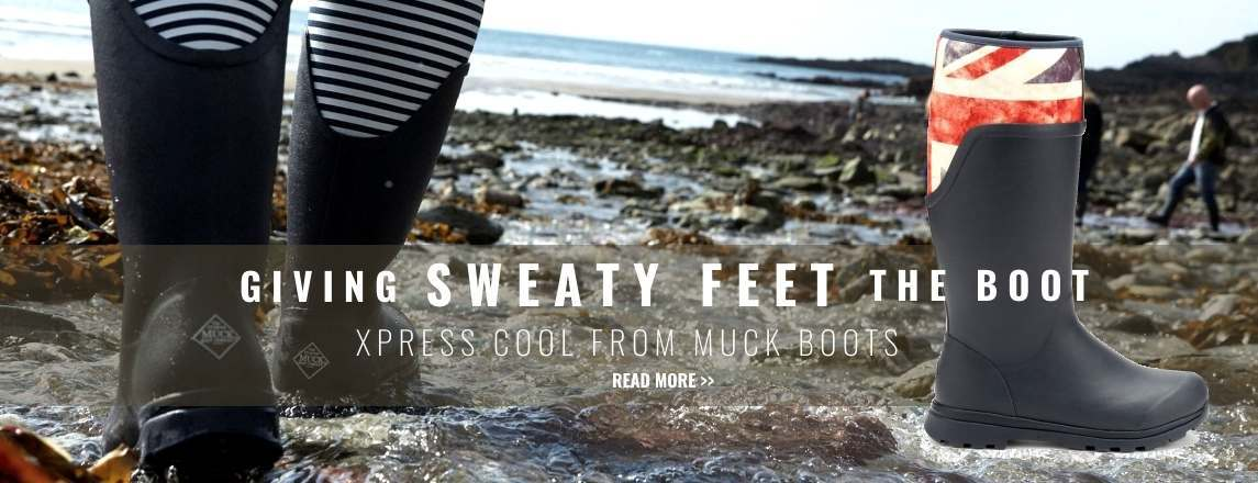 Giving Sweaty Feet the Boot - Xpress Cool Technology from Muck Boots