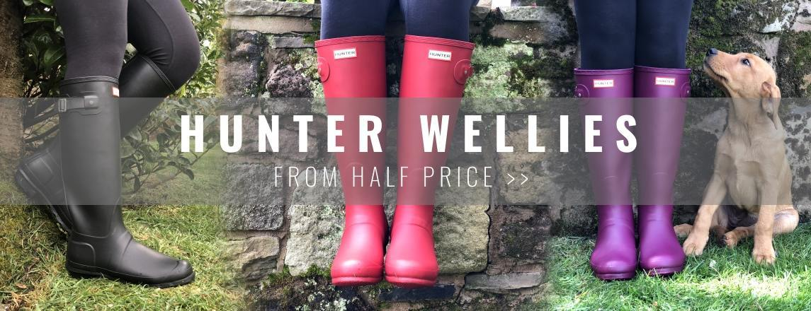 Hunter Wellies from Half Price