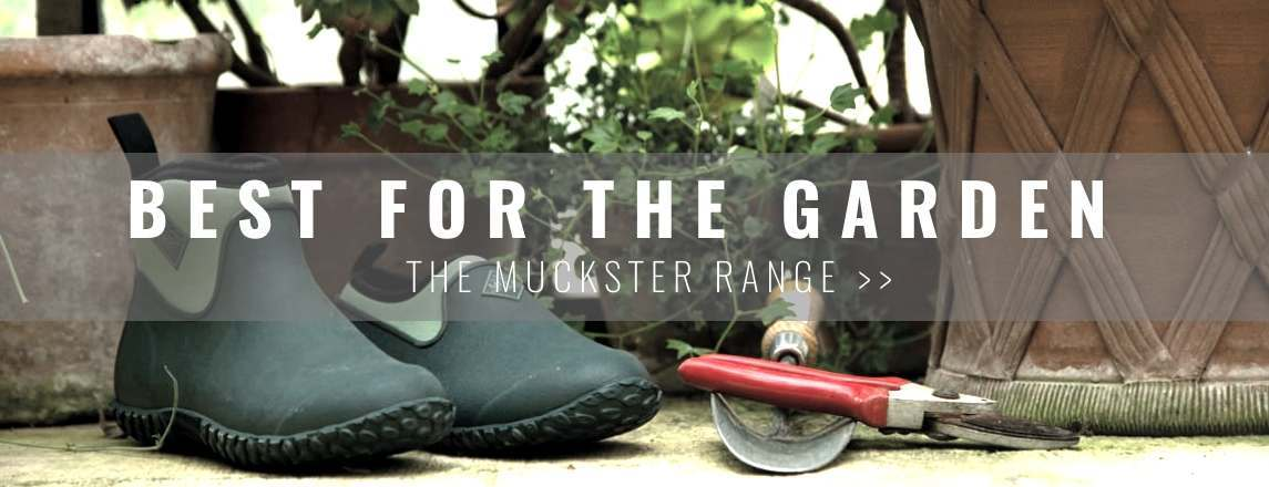 The best wellies for gardening - introducing the Muck Boots Muckster Range