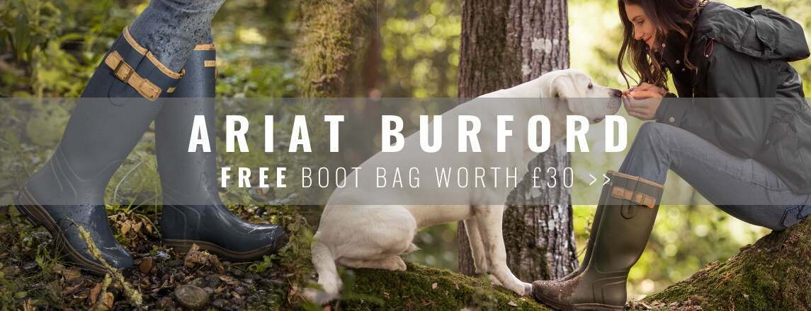 Ariat Burford Wellingtons Range - Free gift with purchase
