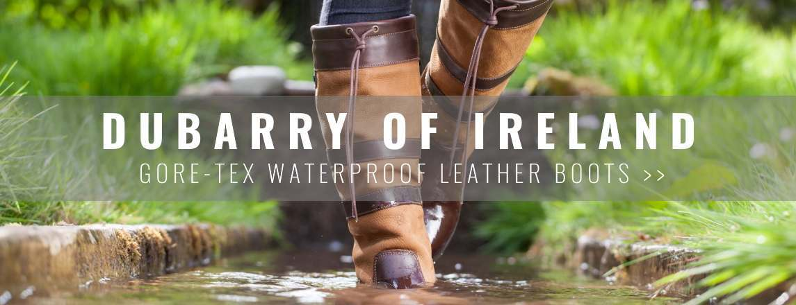 Dubarry Gore-Tex Waterproof Leather Boots