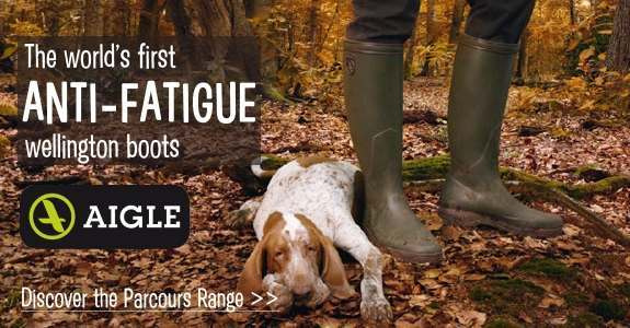 Aigle wellies and boots