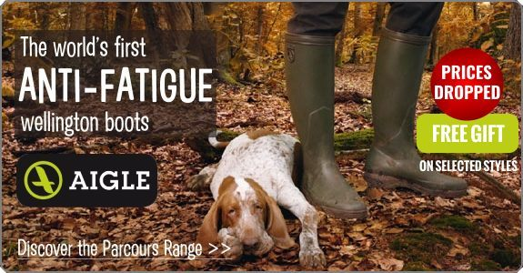 Free gift with selected Aigle Boots