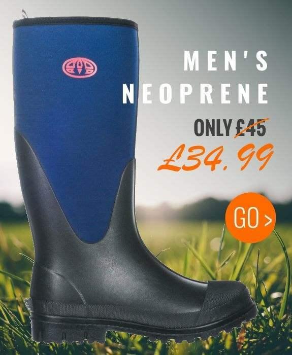 Our Cheapest Men's Neoprene Wellies