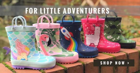 Kids Wellies for Little Aventurers
