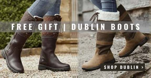 Free gift with Dublin boots