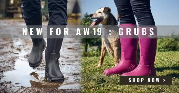 New Range - Grubs Boots and Wellies
