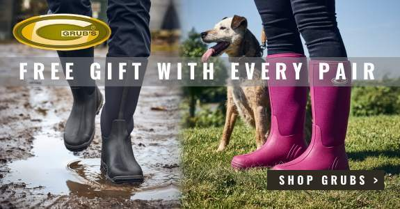 Free Gift with Every Pair of Grubs Boots and Wellies