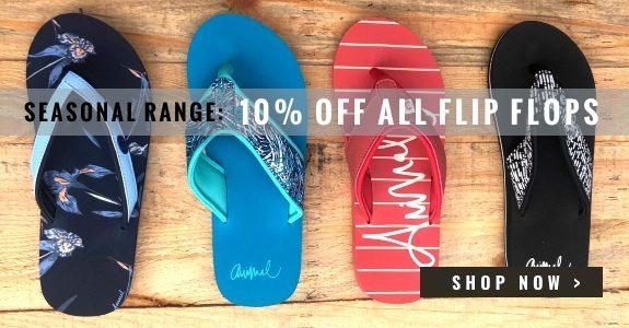 10% off all flip flops