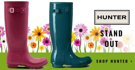 Stand Out in Hunter Wellies