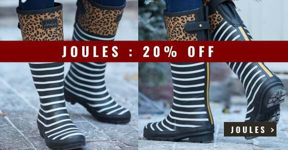 Save 20% on Joules wellies