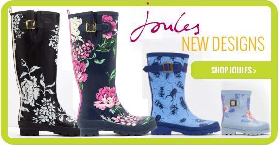 New design Joules wellies now in stock