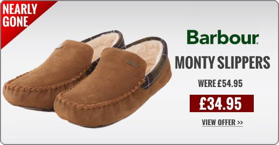 Barbour Monty Slippers save £20