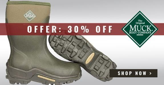 30% off Muck Boot Muckmaster Mid Boots