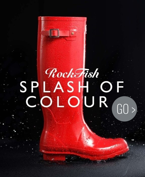 Rockfish Wellies - A Splash of Colour