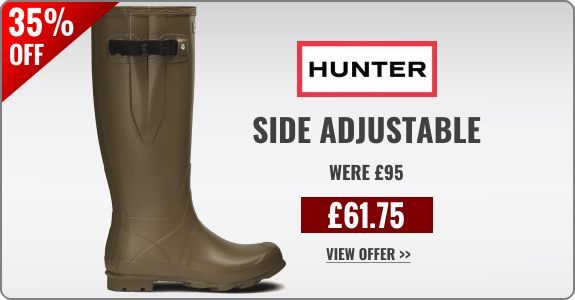 Sale offer on Hunter wellies