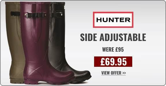 Offer - Hunter Wellies Side Adjustable Norris